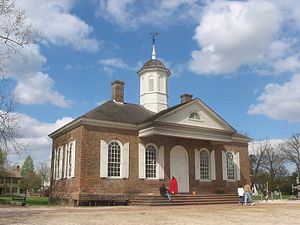 Colonial Williamsburg - Restored Courthouse