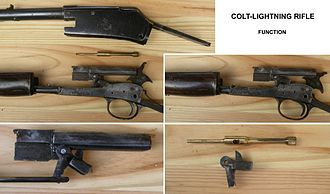 Colt Lightning Carbine - Colt-Lightning Rifle, function