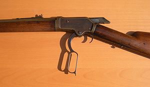 Lever action - Colt-Burgess rifle