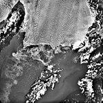 Columbia Glacier, Calving Terminus, Heather Island, November 6, 1983 (GLACIERS 1460).jpg