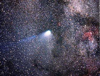 Great comet - Halley's Comet's 1986 apparition was unusually modest in brightness.