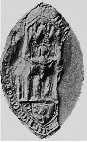 Markyate Priory - One of the common seals of the Priory of Markyate