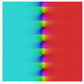 Complex plot for Gudermannian function re and im between -9 to 9.png