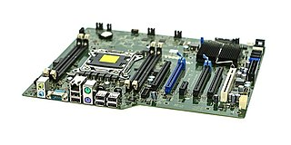 Motherboard Main printed circuit board (PCB) for a computing device