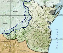 Vị trí của Istria