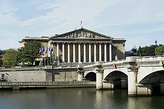 Seat of the French National Assembly