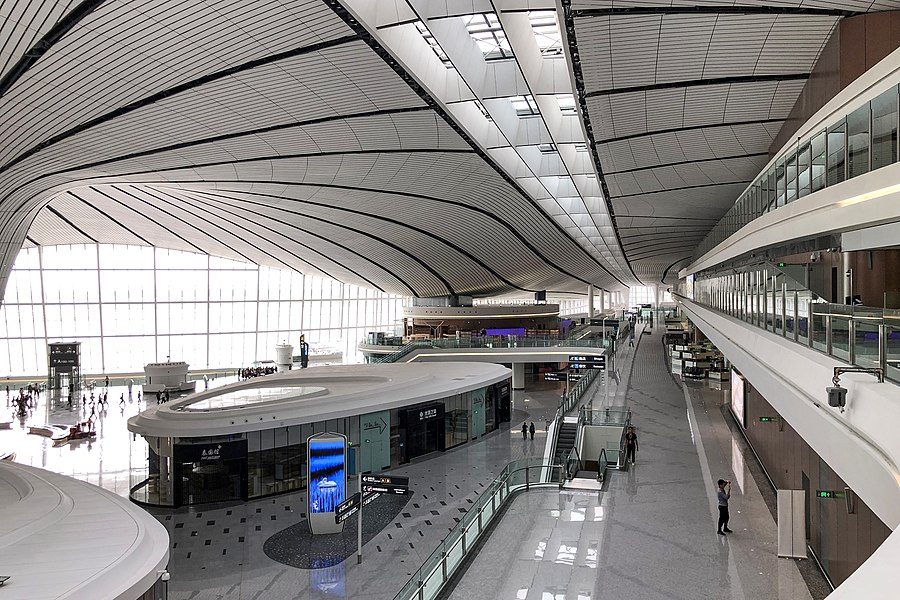 Concourse A of Beijing Daxing International Airport (20190823145053).jpg