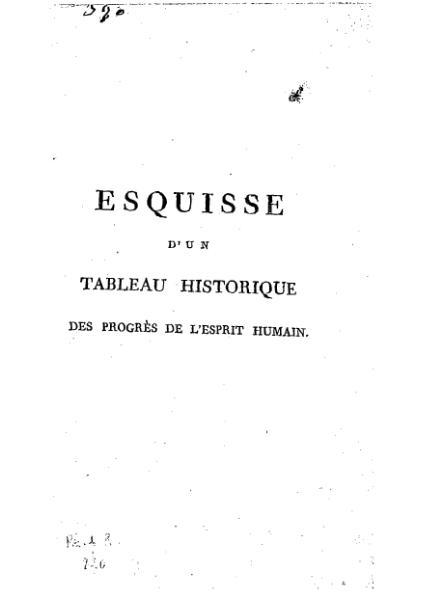 File:Condorcet Esquisse d'un tableau historique des progrès de l'esprit humain.djvu