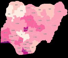 Casi confermati di COVID-19 in Nigeria da state.png