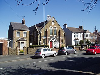 Belvedere, London - Image: Congregational Church, Picardy Road, Belvedere, Kent geograph.org.uk 147119