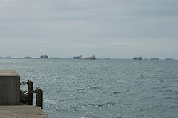 Containerships heading for Luanda, Angola.jpg