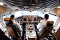 Continental Airlines Boeing 767-400ER flight deck.jpg