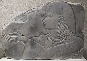 TT57 - Replica of a relief from Khaemhat's tomb