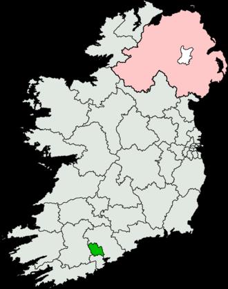 Cork North-Central (Dáil Éireann constituency) - Image: Cork North Central (Dáil Éireann constituency)