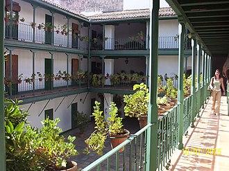 Corral de comedias - Corral del Coliseo in Seville.