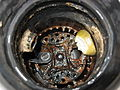 Corroded Garbage Disposal From Above.JPG