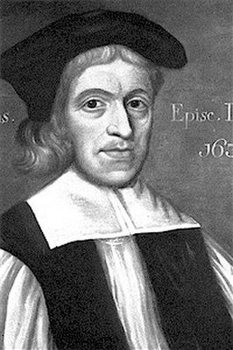 John Cosin - An engraving of Cosin as Bishop of Durham.