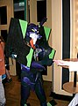 Cosplayer of EVA Unit 01 at Connichi 20040911.jpg