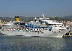 MV Costa Concordia before the disaster
