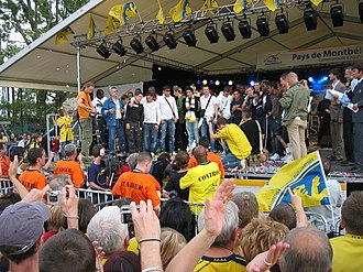 2007 Coupe de France Final - Image: Coupe de France 2007 07
