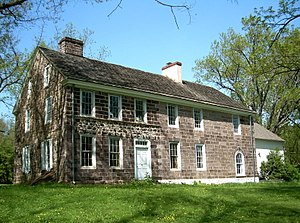 Coventryville Historic District - Coventry Hall, built c. 1730.