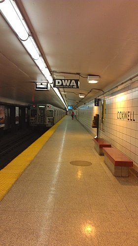 Image illustrative de l'article Coxwell (métro de Toronto)