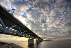 ओरेसंड सेतु Øresund Bridge/ Öresund Bridge
