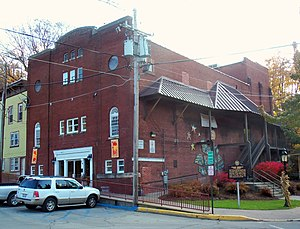 National Register of Historic Places listings in Sussex County, New Jersey - Image: Crescent Theatre, Sussex, NJ