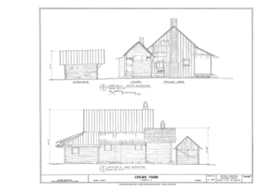 Crews Farm, Macclenny, Baker County, FL HABS FL-398 (sheet 9 of 24).png