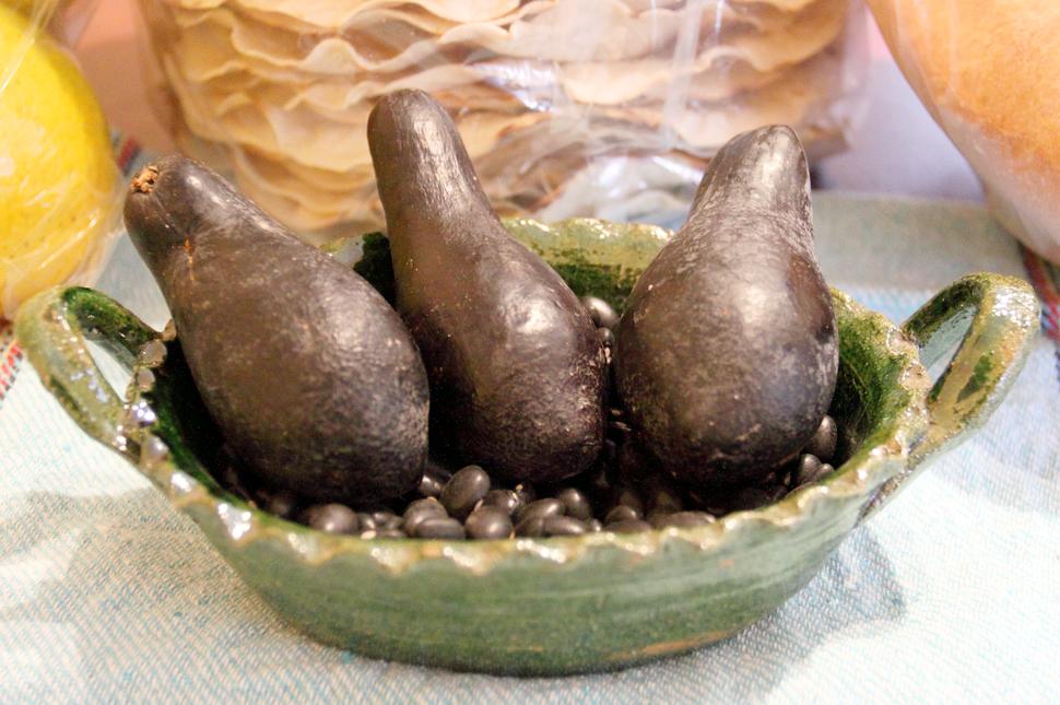 Criollo avocados de Oaxaca