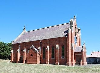 Crossley, Victoria - St Brigid's Roman Catholic church at Crossley