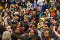 Crowd attending event NOC -BlackForumMN with Bernie Sanders - Minneapolis (24962163056).jpg