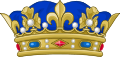 Crown of a Prince of the Blood of France.svg