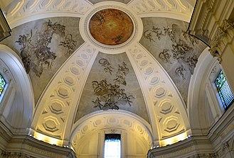 Santissima Trinità dei Pellegrini, Naples - Dome.
