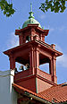 Cupola and bell tower, College Hall, Montclair State University.jpg