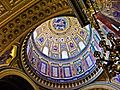 Cupola of the St. Stephen's Basilica in Budapest.jpg