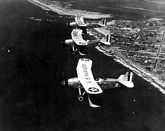 Flight (1929 film) - Curtiss OC-2s in flight, c. 1929