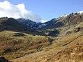 Cwm Cau, from the lower slopes of Mynydd Moel - geograph.org.uk - 671081.jpg