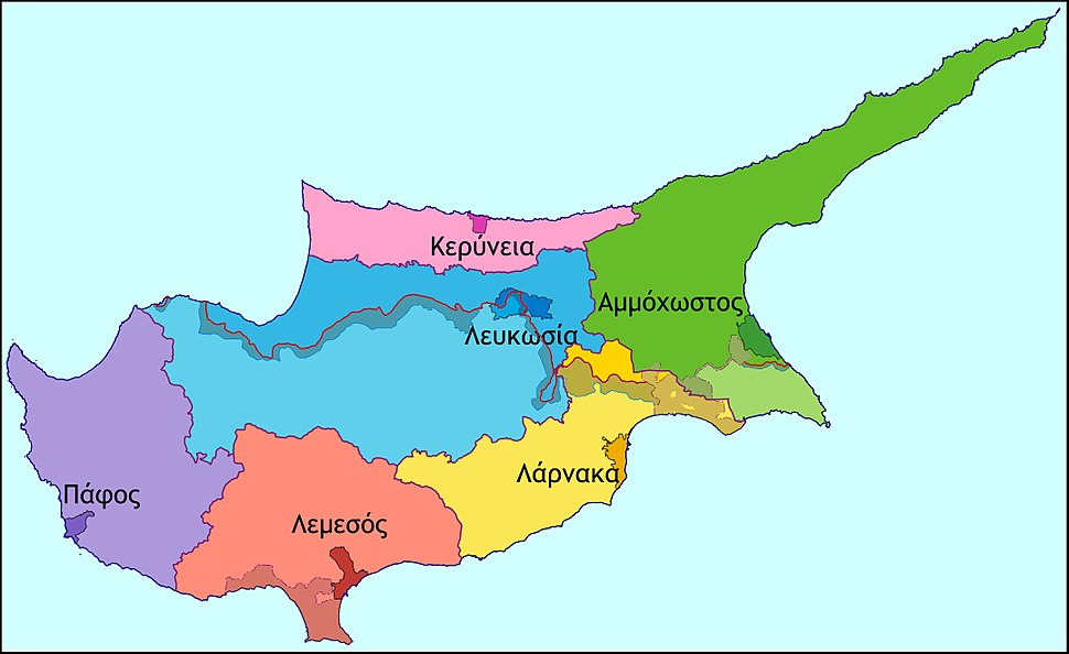 Cyprus districts-1
