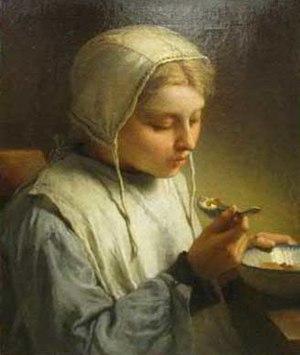 Désiré François Laugée - Image: Désiré François Laugée Jeune fille au bonnet