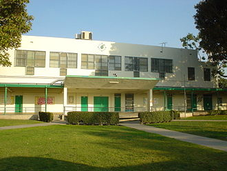 Baldwin Hills, Los Angeles - Susan Miller Dorsey High School, serving Baldwin Hills.
