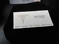 D23 Expo 2011 - Lost props (Jack's business card) (6075807518).jpg