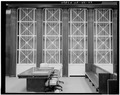 DETAIL FO EIGHTH FLOOR COURTROOM WINDOWS - U. S. Courthouse, 1010 Fifth Avenue, Seattle, King County, WA HABS WASH,17-SEAT,6-22.tif