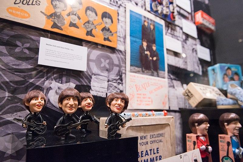 """File:DIG13762-003 - """"Ladies and Gentlemen... the Beatles!"""" exhibit at LBJ Presidential Library, Austin, TX, 2015-06-12 10.56.43.jpg"""