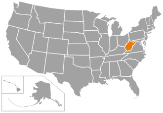 NCAA Division II independent schools - Map of full NCAA Division II Independent schools