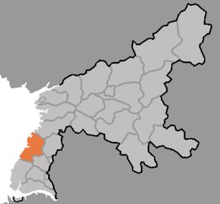 Chungsan County County in South Pyŏngan, North Korea