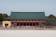 平安神宮外拝殿(大極殿)(京都市左京区)