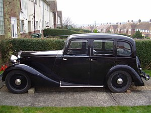 Daimler Fifteen - 6-light saloon
