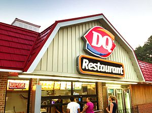 Dairy Queen -  A Dairy Queen restaurant in Meriden, Connecticut, United States