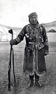 Ja Lama Mongolian adventurer